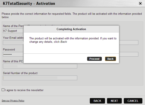 k7 activation key purchase